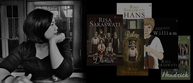 novel karya Risa Saraswati yang diterbitkan bukune