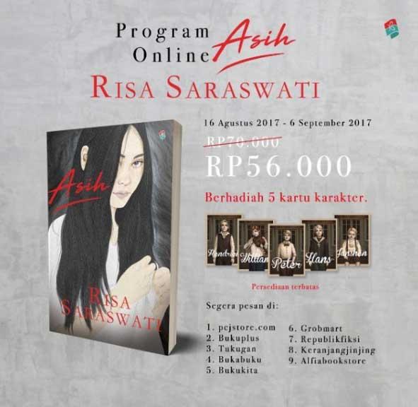 novel asih